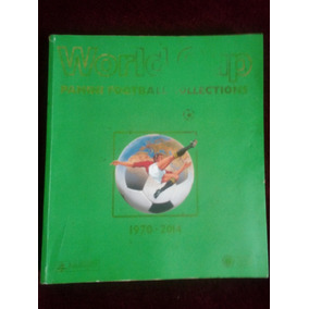 Livro Impresso Word Cup Panini Football Collection 1970-2014