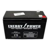 Batería Agm 12v Recargable 7a Ciclo Profundo