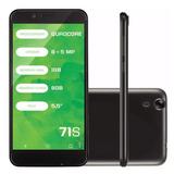 Celular Smartphone 71s Preto 1001 - Mirage
