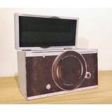 Caja Cámara Fotográfica Madera