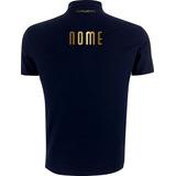 Camisa Polo Torcedor Personalizada Palmeiras Escolha O Nome