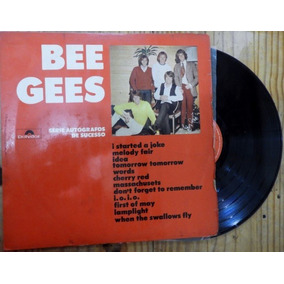 Lp Bee Gees Série Autógrafos De Sucesso 1971
