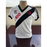 f70e6dd817 Frete grátis. São Paulo. Camisa Retro Vasco 1987 3b-rio Branca - Masculina
