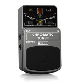 Behringer Chromatic Tuner Tu 300 Pedal Afinador Instrumentos