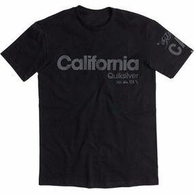 Camisa Quicksilver California Original All Black Hollister c60a0323b87c8