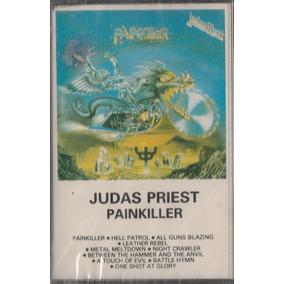 Judas Priest - Fita Cassete K7 Painkiller - 1990 - Lacrada