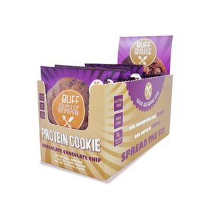 Galletas Proteína Doble Chocolate Suplemento Gym Buff Bake