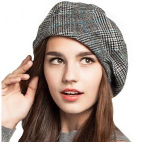 Boina Xadrez Feminina - Acessórios da Moda no Mercado Livre Brasil 6fb78acee04