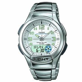 Relógio Masculino Casio Analógico Aq-180wd-7bvdf