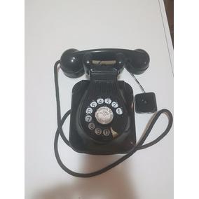 Telefone Antigo Standart Electric, Preto, Baquelite Parede