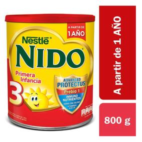 Nido 3 Prebio1 Lata X 800g. Leche En Polvo.nestlé Oficial