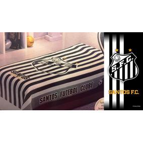 Colcha De Solteiro Do Santos Futebol Clube - Roupa de Cama no ... 5470a1e34ed16