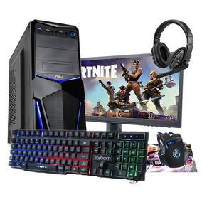 Pc Cpu Gamer Completo Amd A4 6300 3.9gh 8gb 500hd Monitor 17