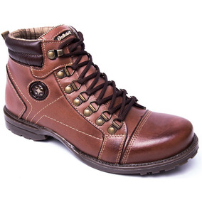 6c5556968f2 Coturno Masculino 100% Couro Belloboy Locker Adventure Preto
