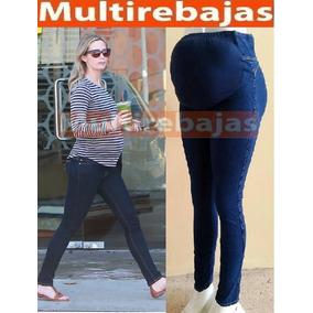 0f7259d65 Precio. Publicidad. Pantalon Jeans Maternal Futura Mama Embarazo Ultra  Comoda