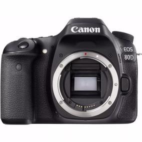 Camera Profissional Canon 80d Dslr Nova Na Caixa 100% Nova