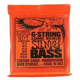 Cuerdas Bajo Ernie Ball 2838 Slinky