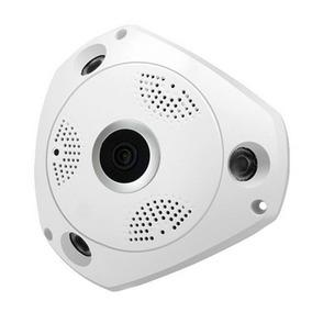 Câmera 360º Ip Vr Cam Wifi Panorâmica Espiã
