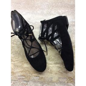 Zapatos Marca Aerosoles Americanos Mujer Moda Terciopelo