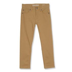 Nautica Five Pocket Pantalón Infantil Talla 14