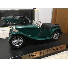 Miniatura Mg Tc Midget 1947 Escala 1/18 Road Signature