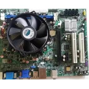 Combo Tarjeta Ecs H61h2-cm Procesador I3 2100 / 6gb Ram
