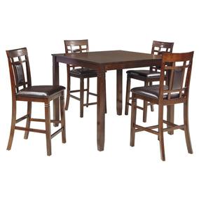 Juego Comedor Con Mesa Alta Y Cuatro Sillas Ashley Furniture