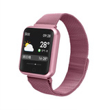 Smartwatch Nexus P70 + Pulseira De Silicone + Película Free