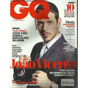 Revista Gq: João Vicente De Castro / Arthur Zanetti / Tufi