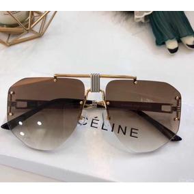 Oculos Sol Celine Marron Com Azul De - Óculos no Mercado Livre Brasil da23d452e3