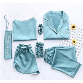 Pijama De 4pz San Valentin Regalo Mama Novia Amiga