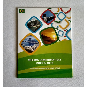 Álbum Para Moedas Das Olimpíadas Rio 2016 - *s/ Moedas*