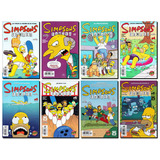 Comic Simpsons 1 Al 8 En Español Editorial Kamite Mexico