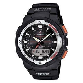 Relógio Masculino Anadigi Casio Sgw500h1bvdr - Preto