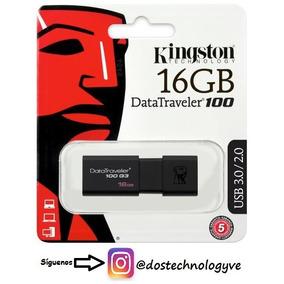Pendrive Kingston 16gb Usb 3.0/2.0 Dt100g3/16gb Originales