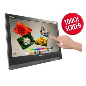Computador All In One Touch Screen 4gb M. 500gb Hd Win7 Wifi