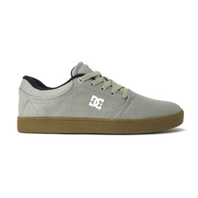 0dbf2c146 Tenis Dc Shoes Crisis Tx Grey gum Original Frete Gratis