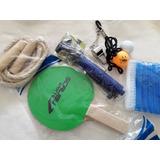 Kit Esportivo (corda Sisal, Apito, Ping Pong E Outros)