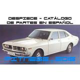 Manual Despiece Catalogo Toyota Corona 1973 - 1979 Español