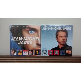Jean Michel Jarre 2 Boxes - 10 Cds Pronta Entrega