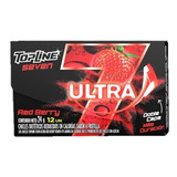 Chicle Topline Ultra Rberry 12u X24grms