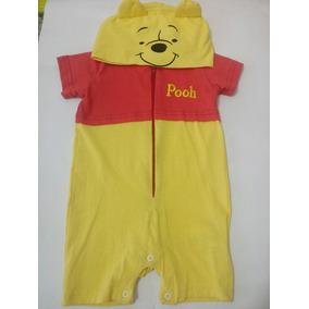 Oso Winnie Pooh Mameluco Pañalero Para Bebé