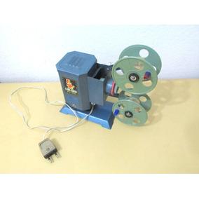 Antiguo Proyector De Juguete De Películas Infantiles
