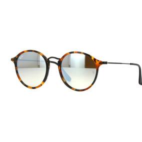 c6212384030a7 Ray Ban Round Fleck 2447 1157 9u Lente Espelhada - Óculos no Mercado ...