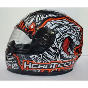 Casco Hebotech Mummy Orange Rider One