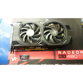 Placa De Vídeo Xfx Rx 480 8gb