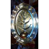 Antigua Bandeja Chapa Plata Pairpoint Silverplate Años 1940