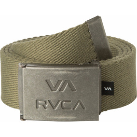 Cinturon Rvca, Mod. Va All The Way, Color Olive.