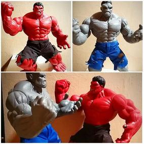 Hulk Vermelho E Hulk Cinza Mimo Premium