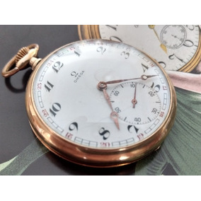 2496f42ed0b Relogio De Bolso Omega Ouro Antigo - Relógios no Mercado Livre Brasil